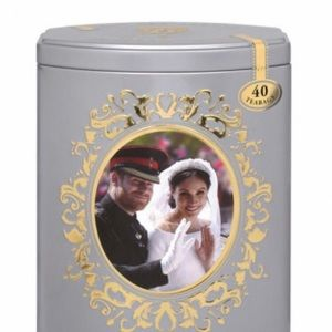 Harry and Megan Limited Edition Tea Tin